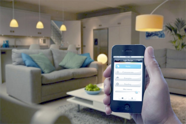 Control Lights with Smartphone