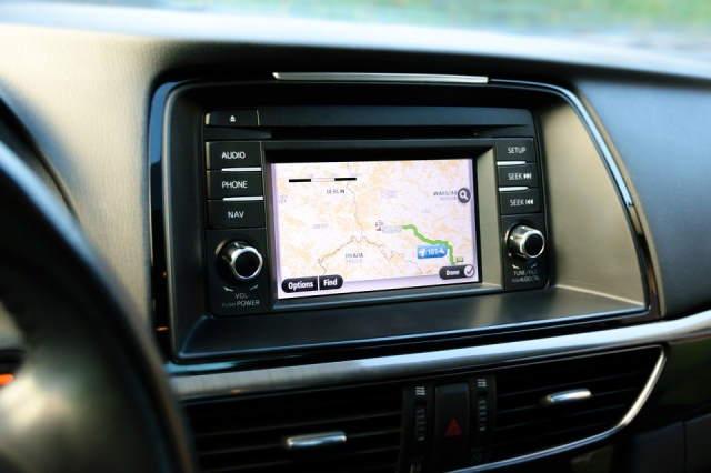 Dashboard GPS